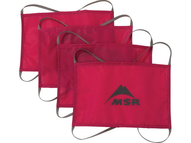 MSR Sand/Snow - Accessoire tente - rouge